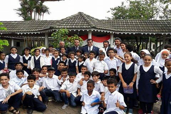 باحميد يزور المدرسة الخيرية التكافلية اليمنية في ماليزيا