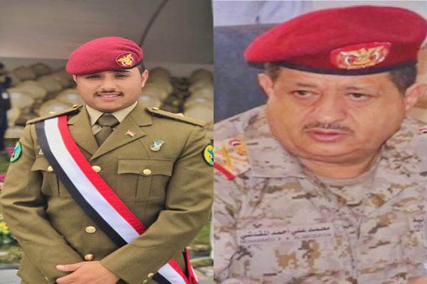 رئيس الأركان يهنئ طالب يمني بتفوقه بكلية الصباح العسكرية بالكويت
