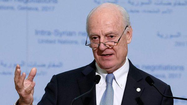 دي ميستورا: جولة جديدة من المفاوضات السورية 23 الجاري