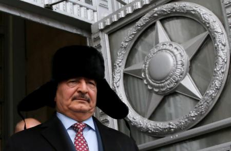 جنرال أمريكي: هناك صلة بين روسيا والقائد العسكري الليبي حفتر