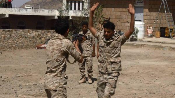 تعز: تخرج دفعة المهمات الخاصة التابعة للواء 17مشاه جيش وطني