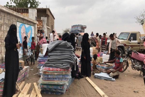 نازحو الحرب في اليمن يعانون أوضاعا مزرية