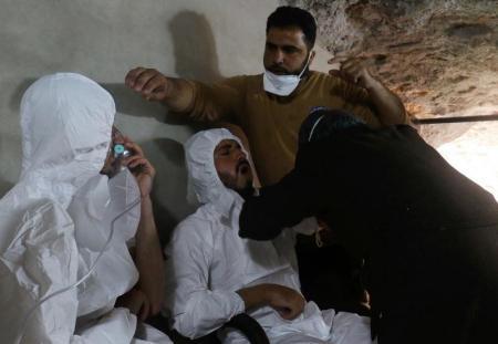 تقرير للمخابرات الفرنسية يحمل القوات السورية مسؤولية هجوم خان شيخون