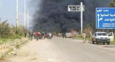 126 قتيل في هجوم على حافلات قرب حلب السورية