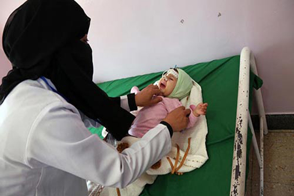 اليونيسف تحذّر: وباء الكوليرا يتفشى بشكل مخيف في اليمن