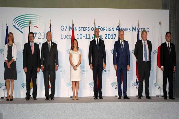 الدول السبع الكبرى: الحل السلمي هو الطريق الوحيد لحل أزمة اليمن