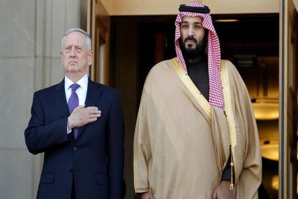 الملف اليمني على طاولة وزير الدفاع الأمريكي ونظيره السعودي بالرياض