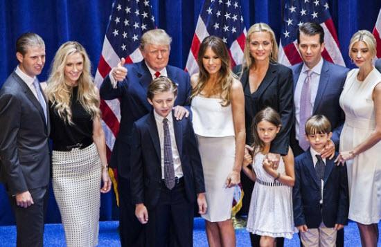 حماية دونالد ترامب وعائلته مهمة مرهقة وباهظة الكلفة