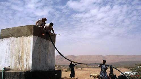مأرب: مؤسسة تنمية تدشن مشروع حفر بئر الرحمة بمديرية مجزر