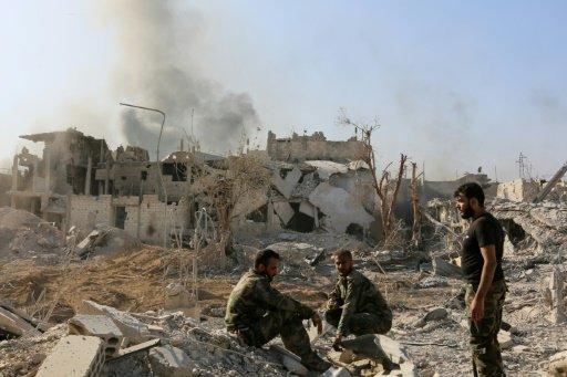 سوريا: بدء عملية إخلاء ثالث حي في دمشق
