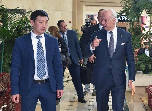 المعارضة السورية تعاود المشاركة في مفاوضات استانا