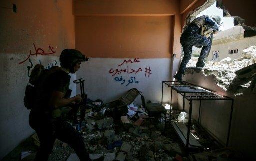 القوات العراقية تقتحم اخر الاحياء الخاضعة للجهاديين في غرب الموصل