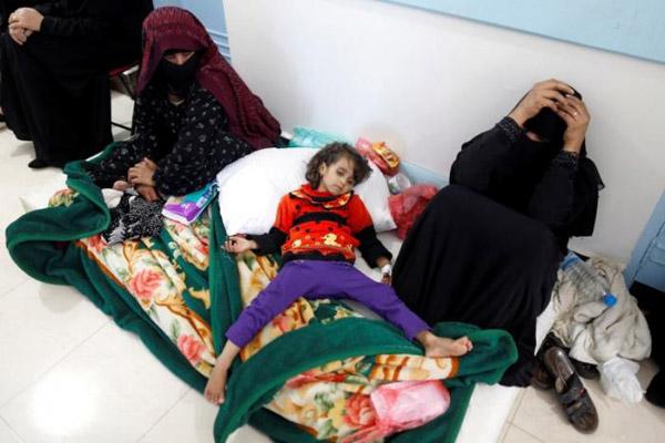 الصليب الأحمر: الكوليرا تودي بحياة 115 شخصا في اليمن