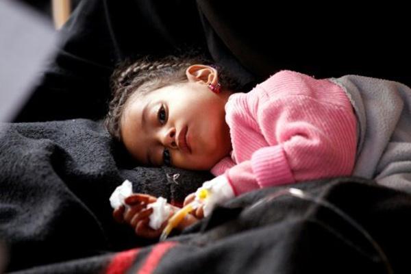 منظمة الصحة: ارتفاع وفيات الكوليرا باليمن إلى 315 شخصا
