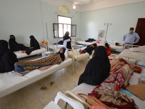 الكوليرا باليمن.. انتشار بمناطق الحوثيين وانحسار بمناطق الحكومة الشرعية