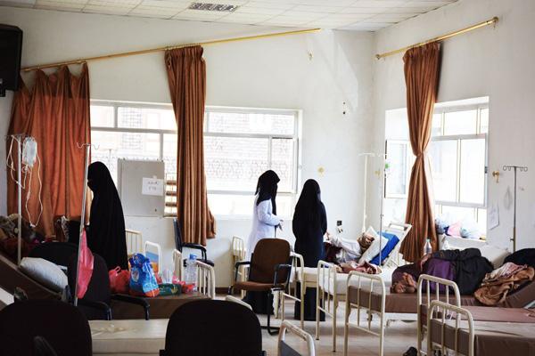 الصحة اليمنية: مليشيا الحوثي وصالح تعيق وصول الفرق الطبية لمكافحة الكوليرا