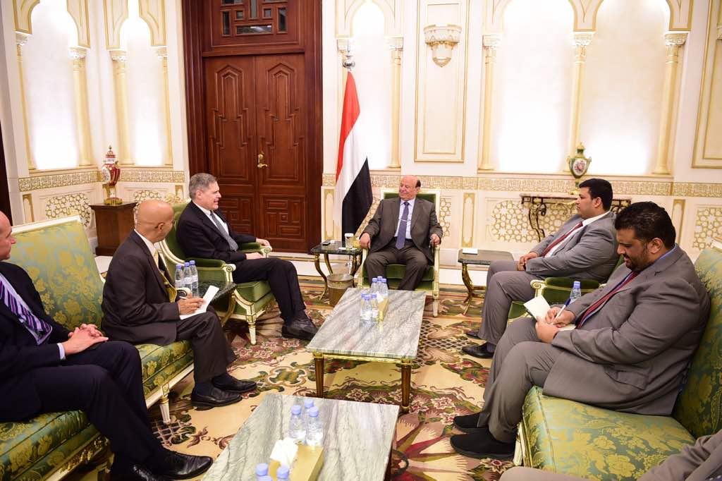 ترحيب أمريكي بموقف الحكومة البناء مع مقترحات ولد الشيخ بشأن ميناء الحديدة