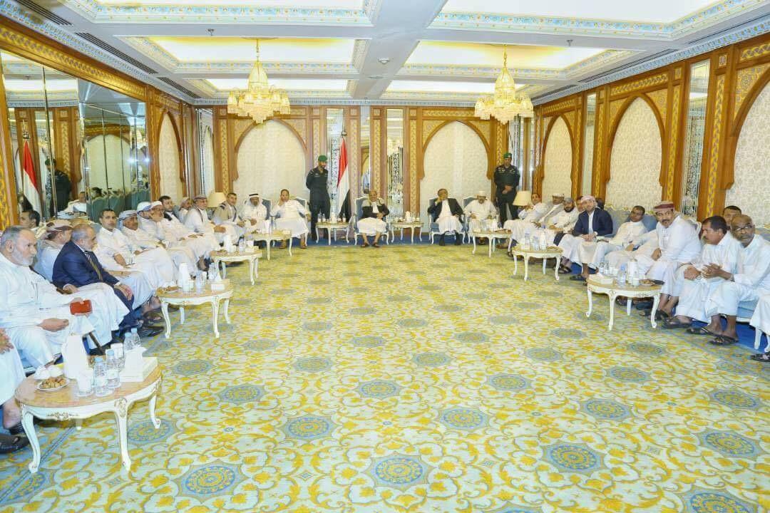 نائب الرئيس يؤكد على ضرورة اضطلاع مجلس النواب لمهامه التشريعية وإسقاط الإنقلاب