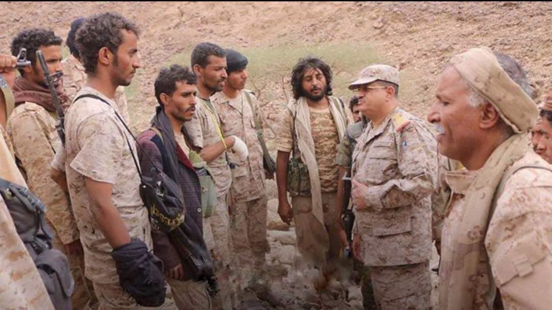رئيس الأركان: تحرير الجيش الوطني لما تبقى من صرواح أمر محسوم