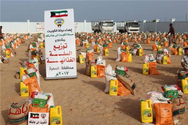 """حملة """"الكويت إلى جانبكم"""" تنفذ عددا من المشاريع في محافظتي تعز ولحج"""