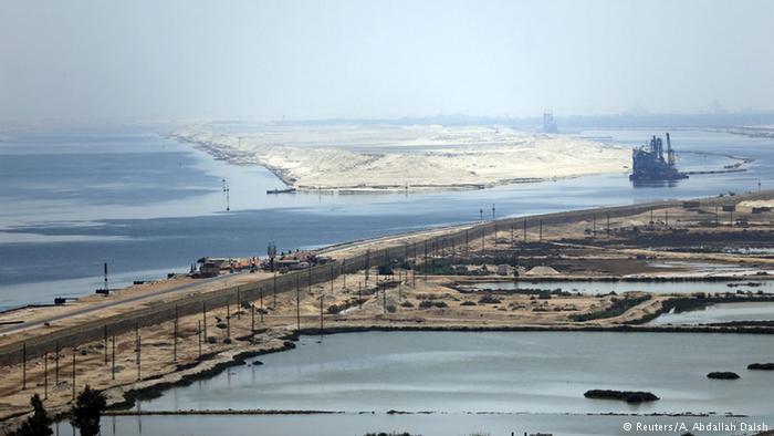 ?gypten Er?ffnung Erweiterung Suezkanal (Reuters/A. Abdallah Dalsh)