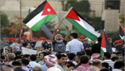 المئات يتظاهرون في عمان احتجاجا على إغلاق المسجد الأقصى