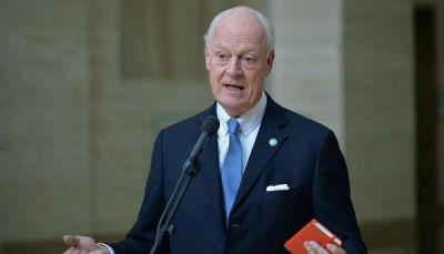 دي ميستورا: لا مؤشرات في جنيف على استعداد االنظام لبحث الانتقال السياسي