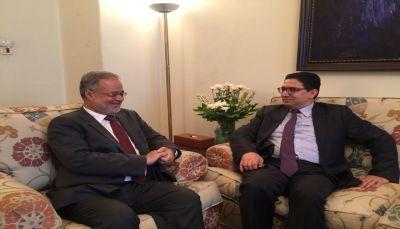 نائب رئيس الحكومة يثمن دعم المغرب للشرعية في اليمن