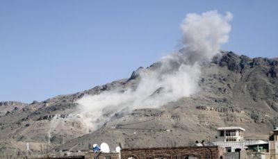 غارات للتحالف تستهدف تجمعات الانقلابيين على الحدود اليمنية السعودية
