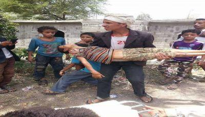 أب يتسبب في وفاة طفله شنقاً تحت التعذيب في حزم العدين
