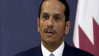 وزير الخارجية القطري: التفاوض الطريق الوحيد لحل الأزمة الخليجية