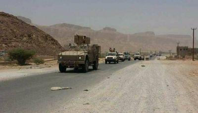 قوات النخبة الشبوانية تصل إلى مديرية حبان شرق محافظة شبوة