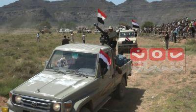 الضالع: الافراج عن شحنه أسلحة تابعة للجيش بعد أيام من احتجازها في نقطة أمنية
