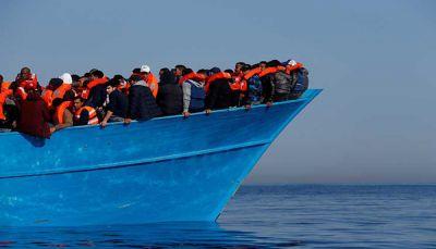 قوات الأمن تضبط 200 مهاجر صومالي غربي مدينة المكلا بحضرموت