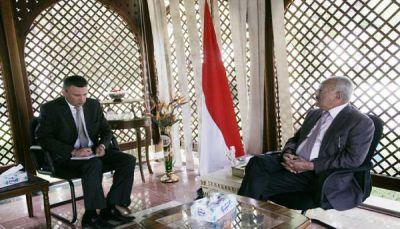 صالح يطرق مجددا أبواب سفارة روسيا بصنعاء: أنقذونا بإيقاف الحرب