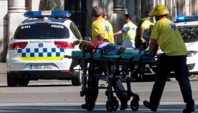 عشرات الضحايا إثر عملية دهس وسط برشلونة