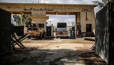 هيئة فلسطينية تقول إن مصر رفضت إدخال قافلة مساعدات جزائرية لغزة