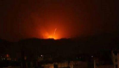 مقاتلات التحالف العربي تشن غارات على مواقع في العاصمة صنعاء