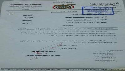 تعميم حوثي برفع حالة الطوارئ القصوى في جميع مستشفيات العاصمة