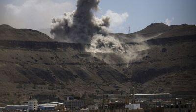 التحالف يستهدف مواقع للانقلابيين بصنعاء بعد اعتراض صاروخ فوق الرياض