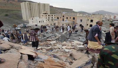 صنعاء: قتلى وجرحى من المدنيين في قصف لمقاتلات التحالف جنوب العاصمة