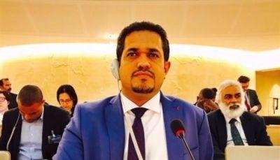 وزير حقوق الإنسان: المنظمات الدولية تظهر موقف متراخيا أمام جرائم الحوثيين