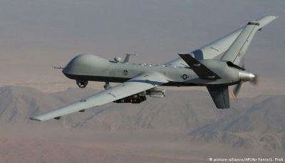 أبين: مقتل ثلاثة من مسلحي القاعدة في غارة جوية لطائرة بدون طيار