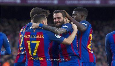 ميلان يتوجه إلى برشلونة لتعويض غياب كونتي
