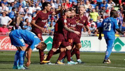 سلاح البدلاء ينقذ برشلونة من فخ خيتافي