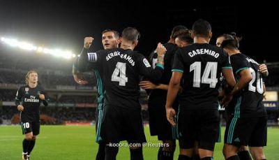 ريال مدريد يعود إلى سكة الانتصارات من ملعب مضيفه سوسيداد
