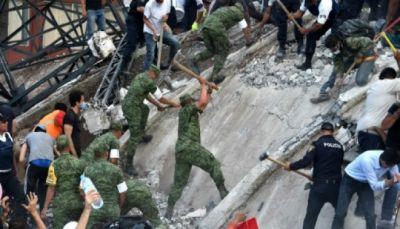 زلزال عنيف يوقع 224 قتيلا بينهم 21 طفلا على الأقل في المكسيك