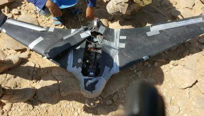الجيش يسقط طائرة تجسس تابعة لمليشيا الحوثي في نهم شرق صنعاء