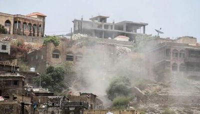 حجة.. مقتل مدني وإصابة ثمانية آخرين بينهم امرأة وطفل في قصف حوثي بحيران