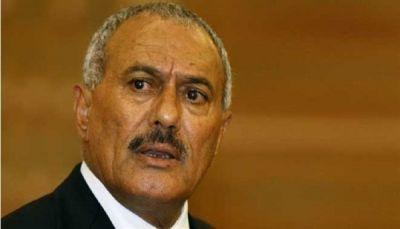 """صالح يدعو اليمنيين إلى الانتفاضة ضد الحوثيين ويعلن """"استمرار الحرب ضد الحوثيين"""""""